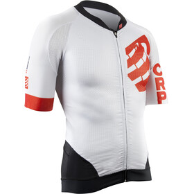 Compressport Cycling On/Off Maillot - Maillot manches courtes - blanc